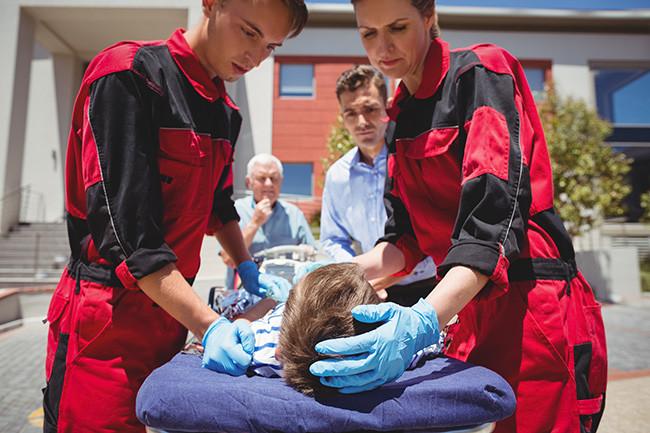 FP tecnico grado medio emergencias sanitarias semipresencial